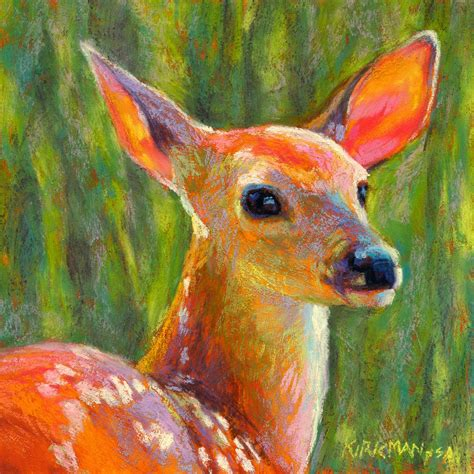 Rita Kirkman S Daily Paintings Melody Animal Painting For