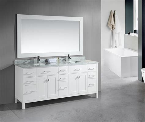 sink bathroom vanities white adorna 78 inch sink bathroom vanity set white finish