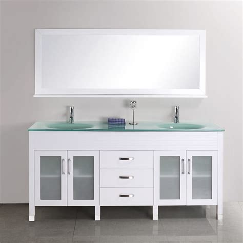 68 Inch Bathroom Vanity Quinn 68 Inch Sink Vanity Set Free Shipping Today