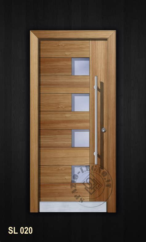 portoni ingresso moderni portoncino moderno in legno massello ed in varie essenze