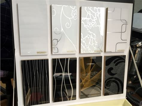 decorative acrylic panel for cabinet kitchen cabinet use