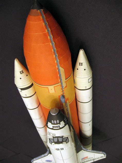 Papercraft Sts - space shuttle paper model pics about space