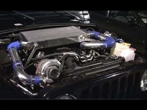 Jeep 4 0 Turbo Kit Turbo Jeep Wrangler 4 0 Drag Race Spinning Almost 100mph