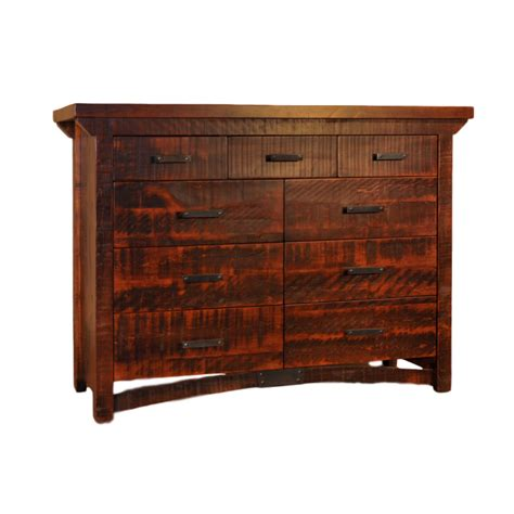 rustic bedroom dressers rustic carlisle dresser home envy furnishings solid