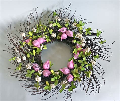 spring wreath trading seasons spring wreaths