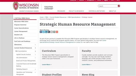 Best Mba Strategy Programs by Top 26 Human Resources Masters Programs In 2017 Niceculture