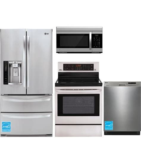 brandsmart kitchen appliance packages lg stainless steel complete kitchen package lmxs27626s