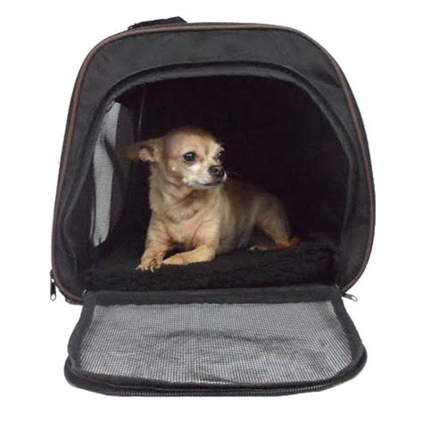 pawfect puppy pawfect pet large black soft sided travel pet carrier for or cat