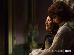outlander season 2 new posters of jamie and claire