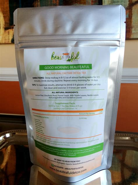 Benefits Of Detox Tea In The Morning by 28 Day Quot Morning Beauteaful Quot Daytime Detox Tea