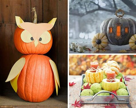 Decorating Ideas For Pumpkins Diy Ways To Decorate Your Home With Pumpkins Diy Ready