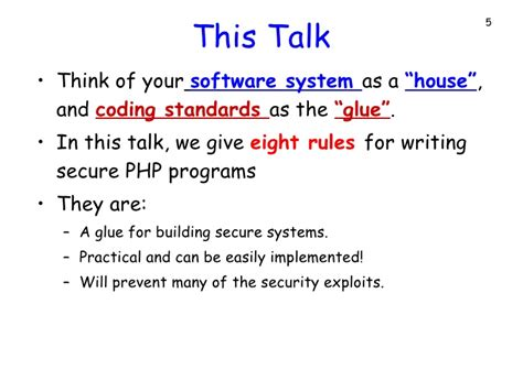 udemy writing secure php code php security eight simple rules to writing secure php programs