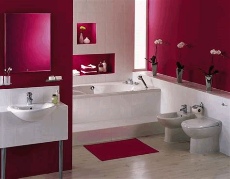 red bathroom decorating ideas red and white bathroom decoration ideas home decoration