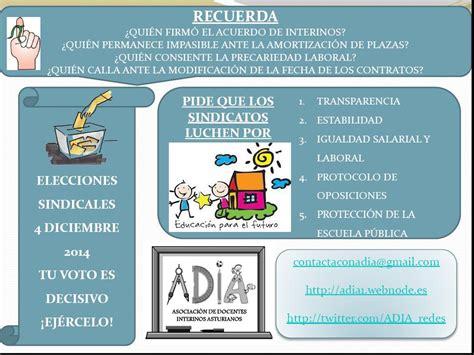 adia asociacin de docentes independientes argentinos elecciones sindicales 4 de diciembre adia