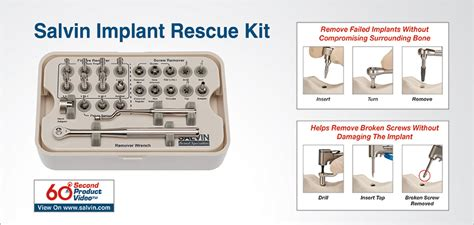 Dental Surgical Implant Kit Surgery Broken Implant Remover Repai Salvin Dental Specialties Everything For Your Implant
