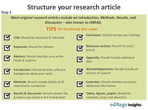 sections of a research article citations in supplementary material can be indexed