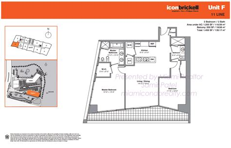 floor plan icon icon brickell tower 2 condos in miami 495 brickell