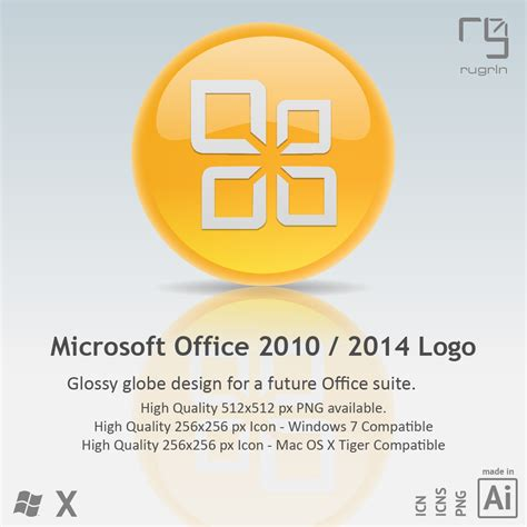 Microsoft Office 2014 by Ms Office 2010 2014 Icon By Rugrln On Deviantart