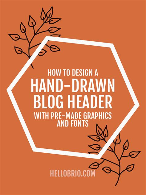 vector header tutorial create a blog header with pre drawn illustrations clip