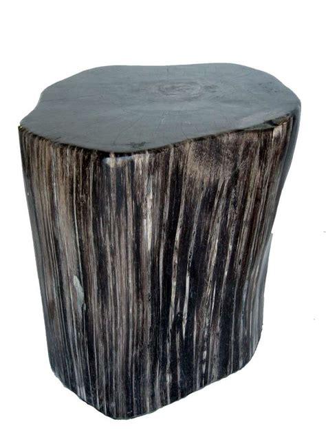 Petrified Wood Stool petrified wood stool or side table at 1stdibs