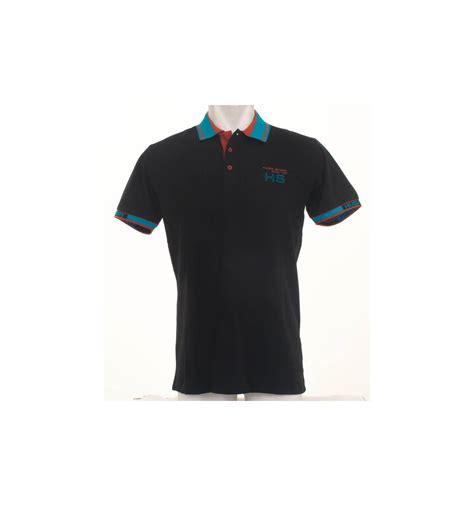Murah Ori Kaos Polos Shirt Polos Kaos Kerah List polo shirt kaos berkerah cowok lengan pendek hugo 026006528
