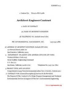 architect contract template interior design contract template interior design