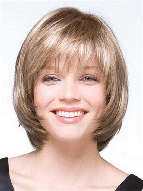 Short Haircut Layers Around Face | 10 layered bob haircuts for round faces bob hairstyles