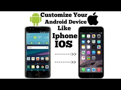 Android Like Iphone by How To Customize Your Android Mobile Look Like Iphone Ios