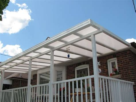 Balcony Awning Clear Roofs Non Insulated Sepio Weather Shelters