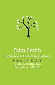 gardening services business cards templates 1000 images about business card design on