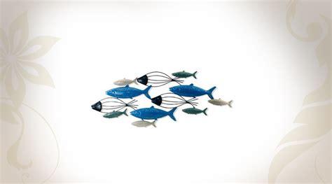 Decoration Poisson d 233 coration murale aquatique les poissons