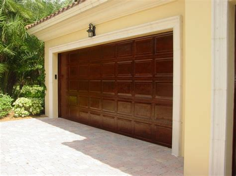 Faux Wood Garage Doors Faux Wood Garage Doors Decor