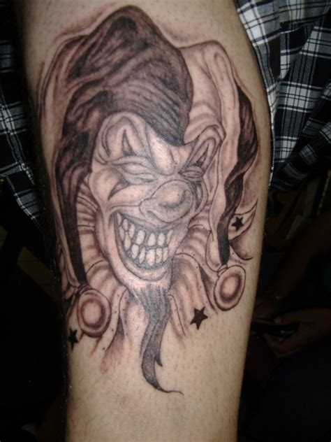 evil clown tattoos joker tattoos designs ideas and meaning tattoos for you