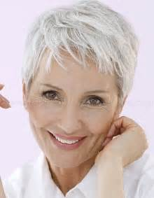 hairstyles for gray hair 55 pixie hairstyles for women over 50