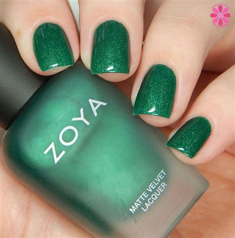 Make Up Zoya zoya winter 2015 matte velvet collection swatches review giveaway cosmetic sanctuary