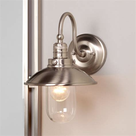bathroom light sconces schooner bath light 1 light shades of light