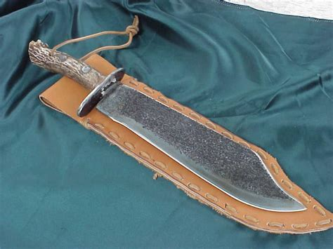 Handmade Bowie Knives For Sale - bone handle bowie knife car interior design