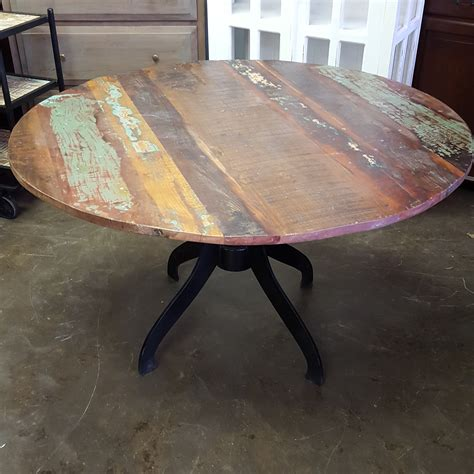 wood metal dining table metal and wood dining table nadeau