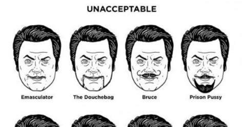 Osha Beard Regulations | acceptable vs unacceptable facial hair for men beard