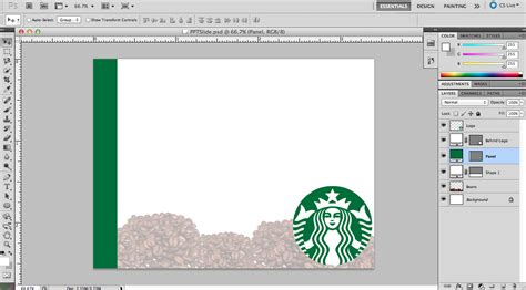 Organize Please Custom Powerpoint Backgrounds Carly The Prepster Starbucks Powerpoint Template