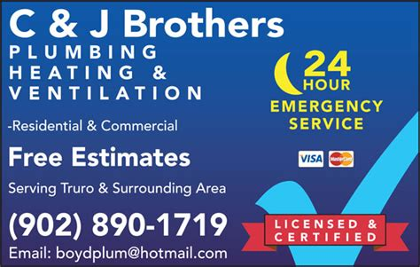 c j brothers plumbing heating ventilation inc