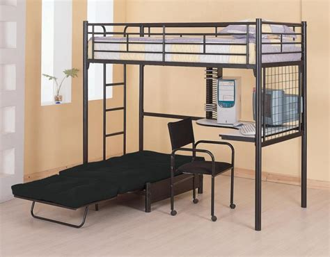 metal frame bunk bed with desk bedroomdiscounters bunk beds metal