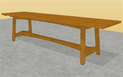 Outdoor wood table ideas