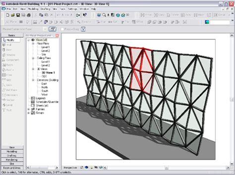 how to create a curtain wall in revit bim and algorithmic form finding 1 2 3 revit tutorial