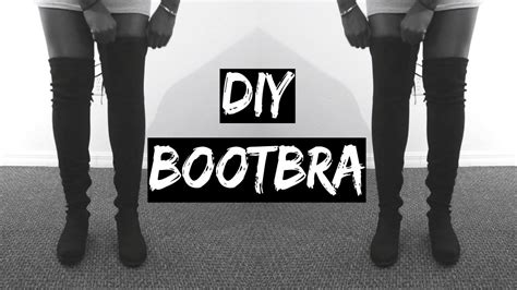 diy thigh high socks from diy how to keep your the knee boots from falling