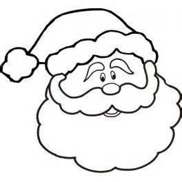 santa outline clipart clipart suggest