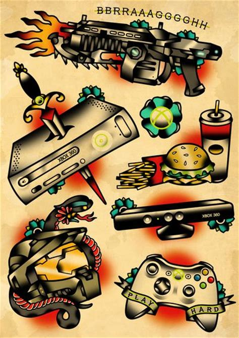 xbox tattoo ideas 25 best ideas about flash on