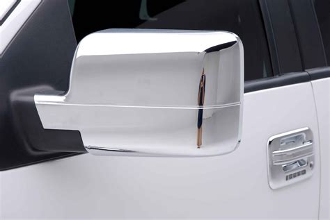 Cover The Mirrors ford f 150 chrome door handle mirror cover trim package