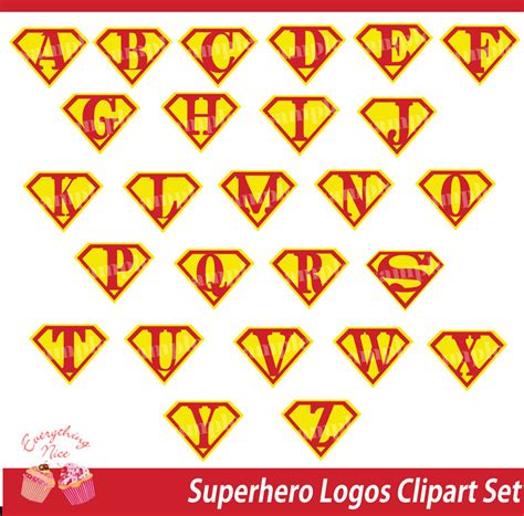 superman alphabet template superman logo font images