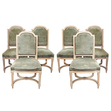 Set Of 6 Dining Room Chairs by X Jpg
